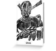 GRAG  Greeting Card