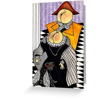 aristocracy Greeting Card