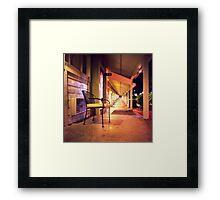 Night at the Motel Framed Print