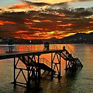 Sunset in Donostia - San Sebastian by Hercules Milas