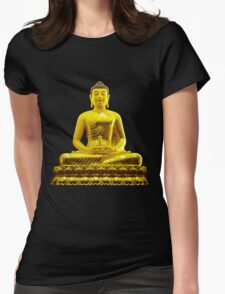 budha Womens Fitted T-Shirt