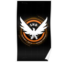 The Division: SHD Design Phone Case Poster