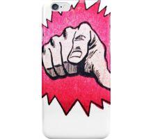 FINGER POW  iPhone Case/Skin
