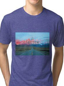 Freedom Mountains Tri-blend T-Shirt
