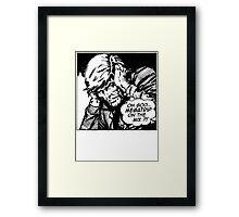 MEGATRIP ON THE MIX?!  Framed Print
