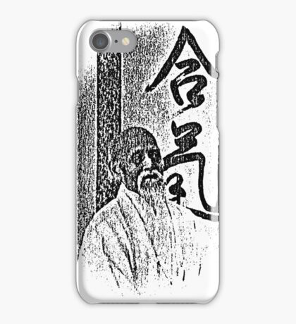 the master v.1  iPhone Case/Skin