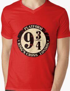 harry potter platform 9 3/4 Mens V-Neck T-Shirt