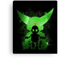 Ratchet & Clank Galaxy (Green Version) Canvas Print