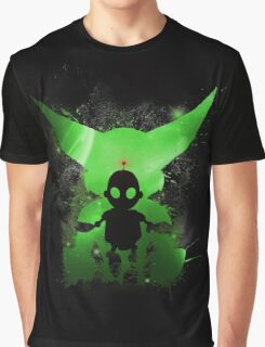 Ratchet & Clank Galaxy (Green Version) Graphic T-Shirt