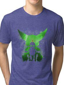 Ratchet & Clank Galaxy (Green Version) Tri-blend T-Shirt