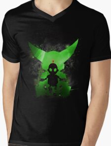 Ratchet & Clank Galaxy (Green Version) Mens V-Neck T-Shirt
