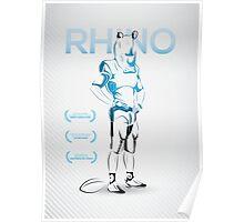 RhinoMan Poster