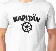 Kapitän mit Steuer Unisex T-Shirt