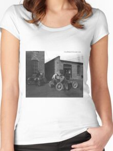 Cars 001 Women's Fitted Scoop T-Shirt