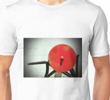Red Saw Blade Unisex T-Shirt