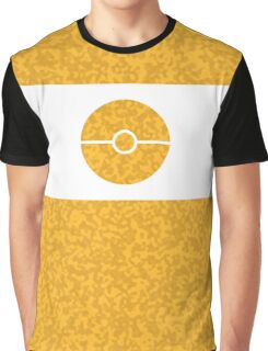 Pokemon CAMO Yellow Graphic T-Shirt