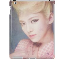 SNSD / LION HEART / HYOYEON / WATERCOLOR iPad Case/Skin