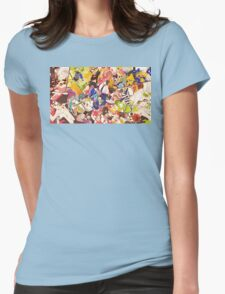 Splatoon - Time for Fun Womens Fitted T-Shirt