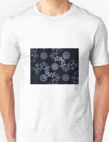Fractal Sapphires Unisex T-Shirt