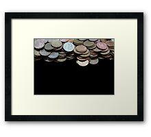 Money Games Framed Print