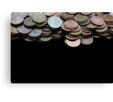 Money Games Canvas Print
