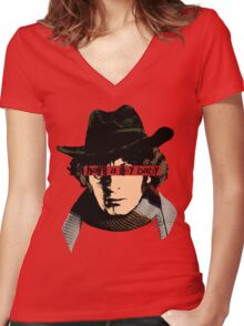 The 4th Pop Women's Fitted V-Neck T-Shirt