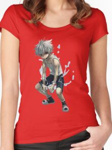 Hunter X Hunter killua Women's Fitted Scoop T-Shirt