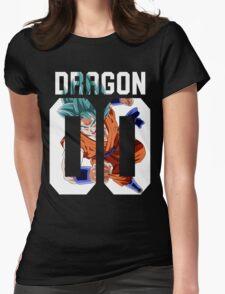 Goku God American Womens Fitted T-Shirt