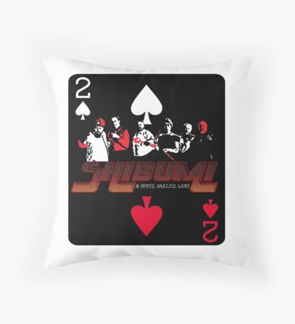 Shibumi, A Wicked, Soulless Game! Throw Pillow