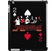 Shibumi, A Wicked, Soulless Game! iPad Case/Skin