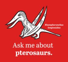 Ask Me About Pterosaurs Kids Clothes