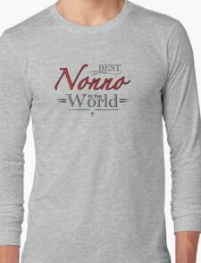 Best Nonno in the World Long Sleeve T-Shirt
