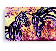 Fantasy Mare And Foal Canvas Print