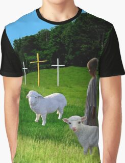 THE MESSAGE OF THE THREE CROSSES - VARIOUS APPAREL Graphic T-Shirt