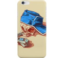 Bonehead 0016 iPhone Case/Skin