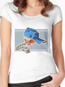 Bonehead 0016 Women's Fitted Scoop T-Shirt
