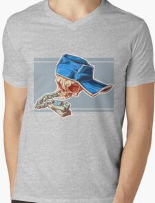 Bonehead 0016 Mens V-Neck T-Shirt