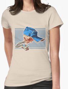 Bonehead 0016 Womens Fitted T-Shirt