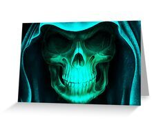 Mysterious Skull Greeting Card