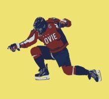 "Washington Capitals Alex Ovechkin ""Ovie"" Shirt One Piece - Short Sleeve"