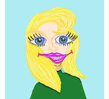 Zelda And Her Award Winning Smile Photographic Print
