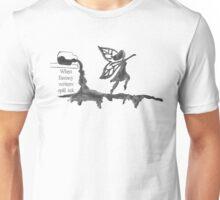 Spilled Ink Fantasy Fairy Unisex T-Shirt