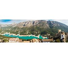 Panoramic view from Castell de Guadalest Photographic Print