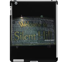 Silent Hill Sign Quotes iPad Case/Skin