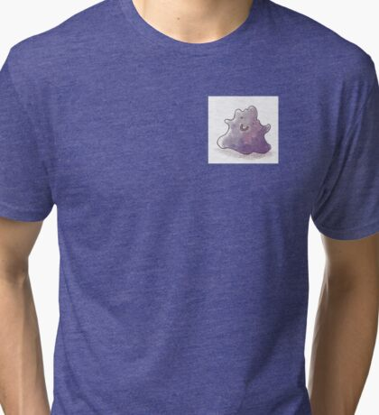 Ditto watercolor painting Tri-blend T-Shirt