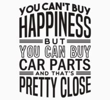 Happiness is car parts Kids Tee