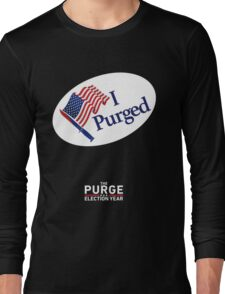 The Purge: Election Year Long Sleeve T-Shirt