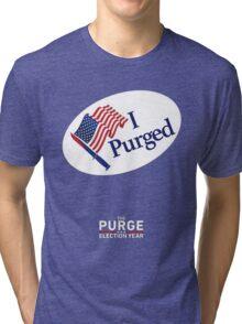 The Purge: Election Year Tri-blend T-Shirt