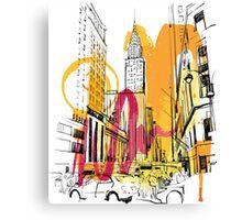 BUILDING Canvas Print