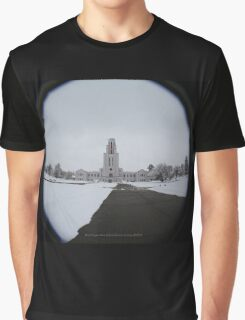 Crown Hill Mausoleum Graphic T-Shirt